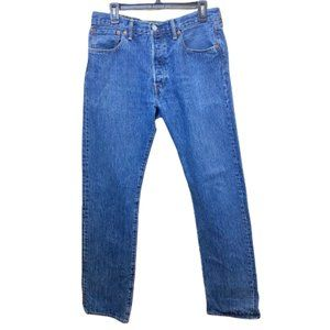 Levi's 501xx Blank Red Tab Button Fly Denim Jeans